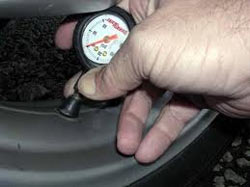 Air pressure easily holds weight of cars and trucks